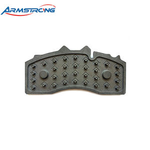 Guaranteed quality commercial vehicle casting type brake pad back plate