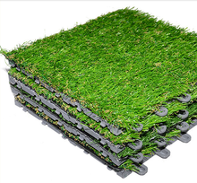 FREE SAMPLES Interlocking PP tile Artificial Grass for football field
