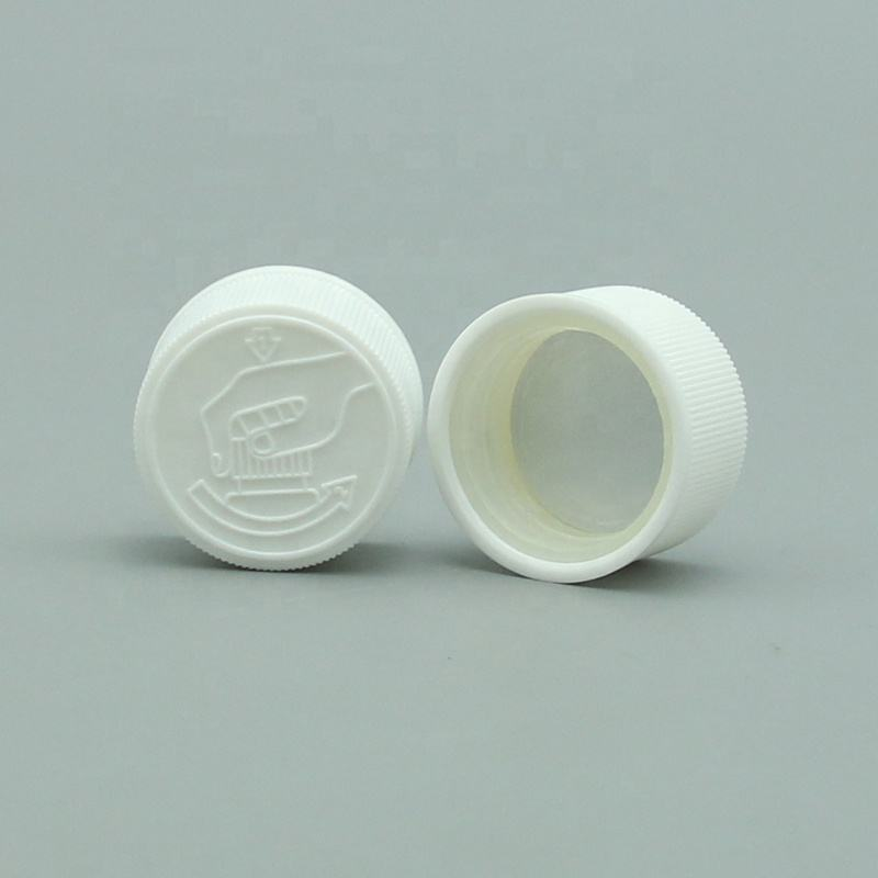 24 Tooth Seal Up Accept Plastic Lid And Child Proof Safety Resistant Cap