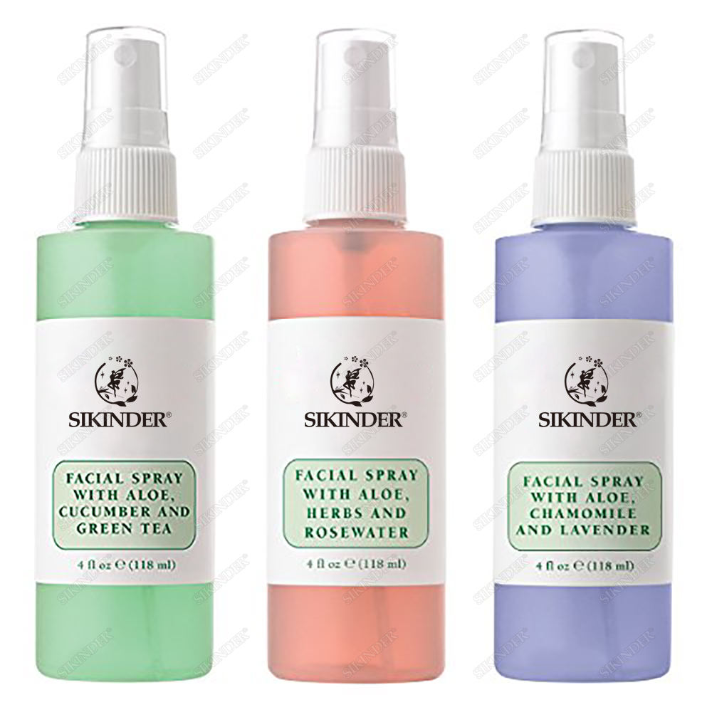 OEM/ODM Private Label Puro Naturale Bulgaria Rosa Lavanda Verde Acqua del Tè Set