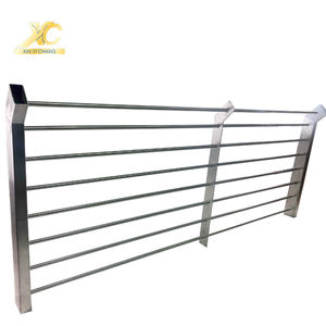 Stainless steel Guard rails outdoor handrail rust proof metal stainless steel balcony railing