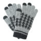 Touch Screen Gloves Jacquard Wool Customized Touch Screen Gloves