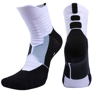 Hot Sale Di Amazon Unisex Kaus Kaki Olahraga Basket Kaus Kaki