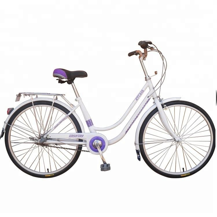 24inch steel frame single speed lady urban bike bicycle
