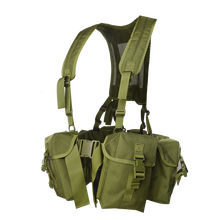 Xinxing light pouch tactical vest for supplies battlefield soldier equipment for army and solider color green TV24