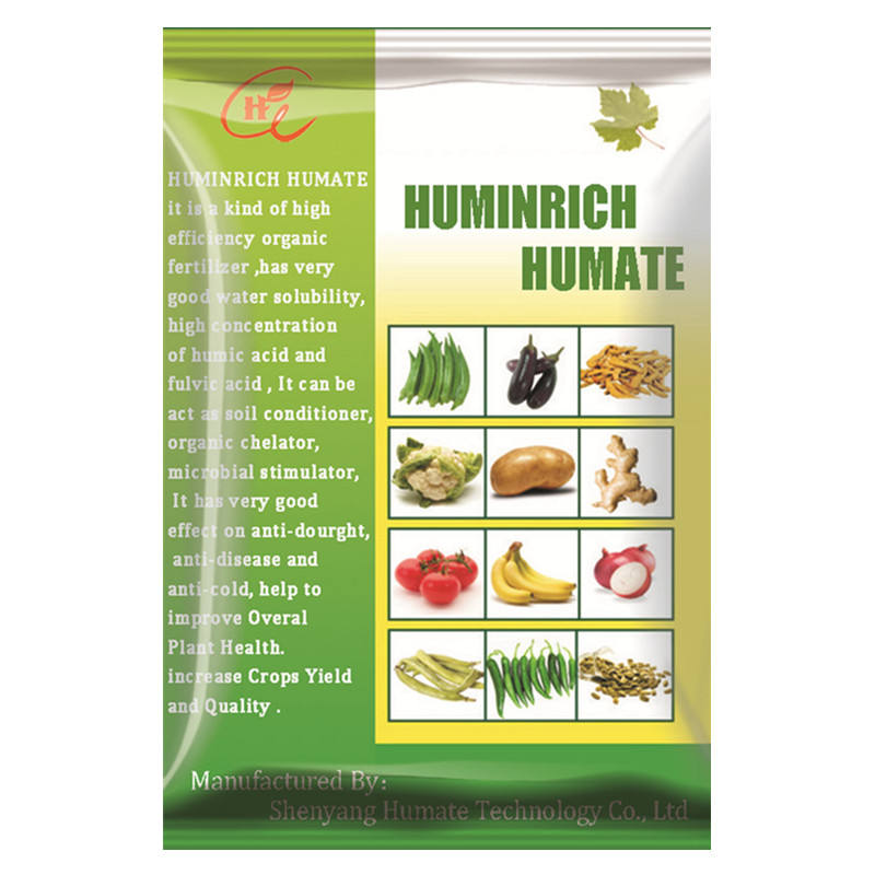 Huminrich 100% Water Soluble Powder Fertilizer Potassium Humate Hydroponic Nutrients