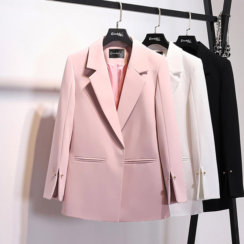 High quality Ladies Blazers 2018 New Fashion Blazer Women Suits Blazer