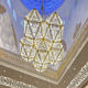 Customized Saudi Arabian mosque handmade glass chandelier