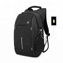 2019 JUNYUAN Anti Theft Design Large Capacity Laptop Backpack Bag with USB Charging