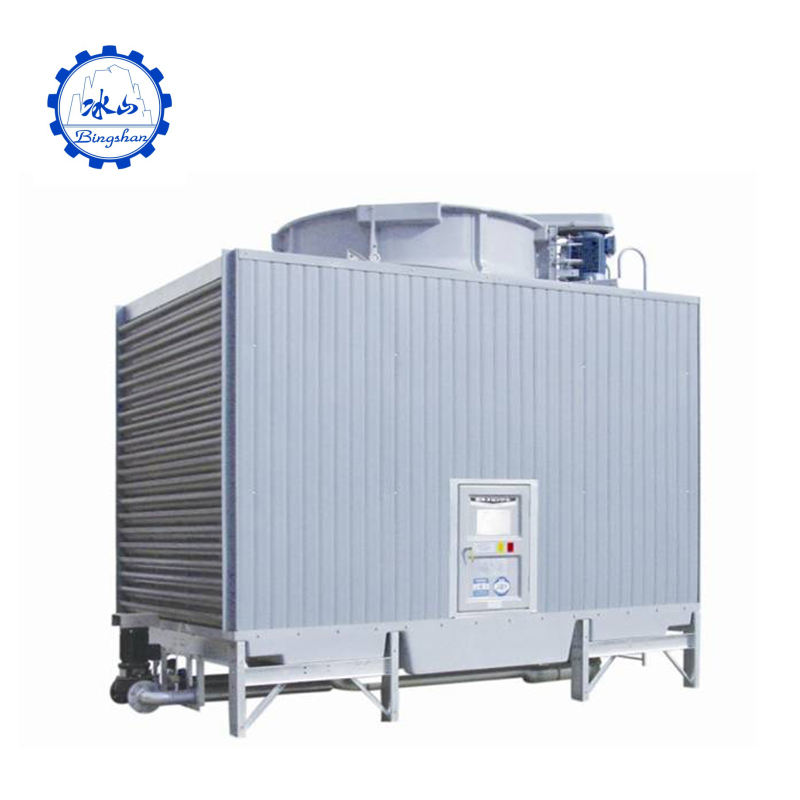 Closed circuit UF series of square cross flow cooling tower for hospital