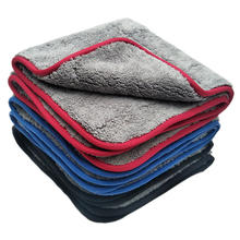 800gsm 1000GSM 1200gsm plush Microfibre Auto wash detailing cleaning Microfiber Car Drying Towel