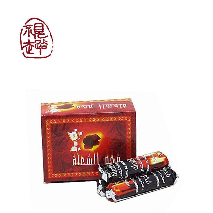 indinesian natrual hardwood hookah tablet shisha charcoal