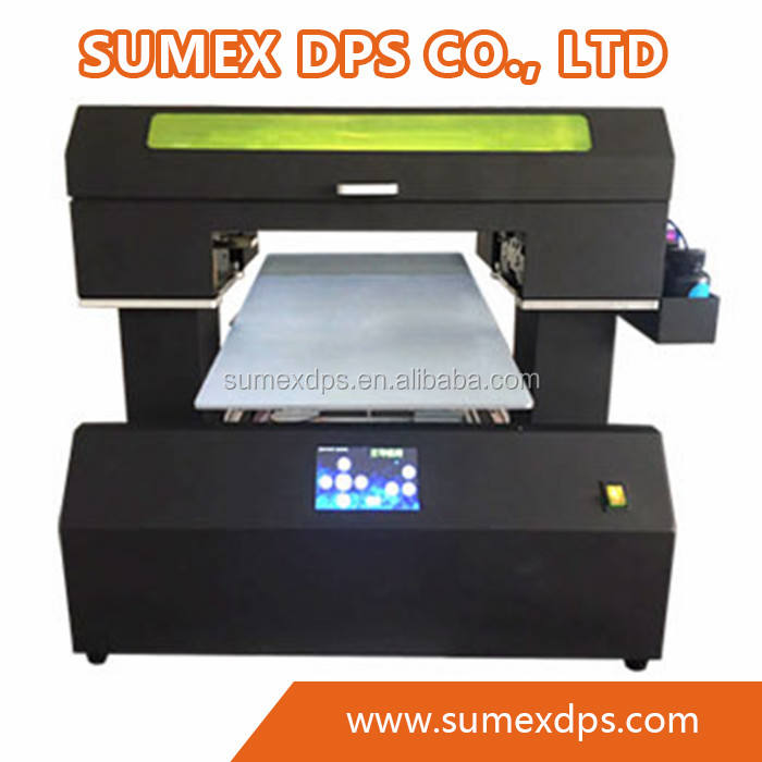 Automatic A3 UV LED Digital Flatbed Printer for bottle Cylinder