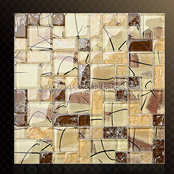 Fashion Design Glass Mosaic Tiles For Wall With Cheap Price