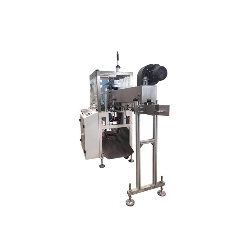 High Speed Bottle Poly Plastic Cutting Machine