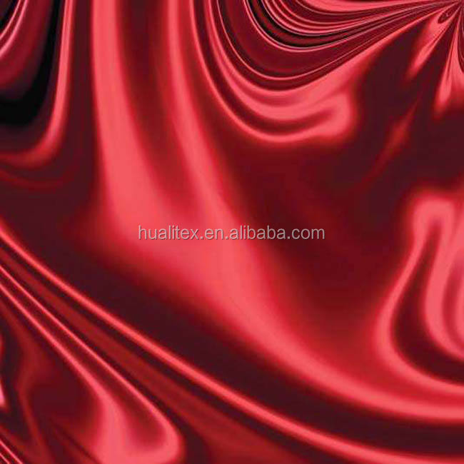 China Supplier 100% polyester satin fabric hs code For Wedding
