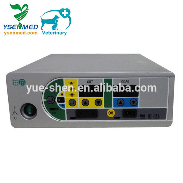 YSESU-100D Veterinary surgical instruments veterinary ESU unit/diathermy machine electrosurgical unit