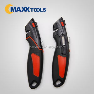 Automatic Utility Knife With Three Blades Cutter and sharp