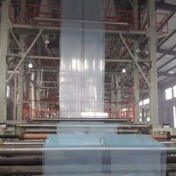 Factory machine for making 5 layered LDPE film for Green house