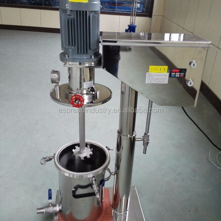 Top Quality Assured ESFSM Series Lab Vacuum Liquid Paint Mixer Disperser