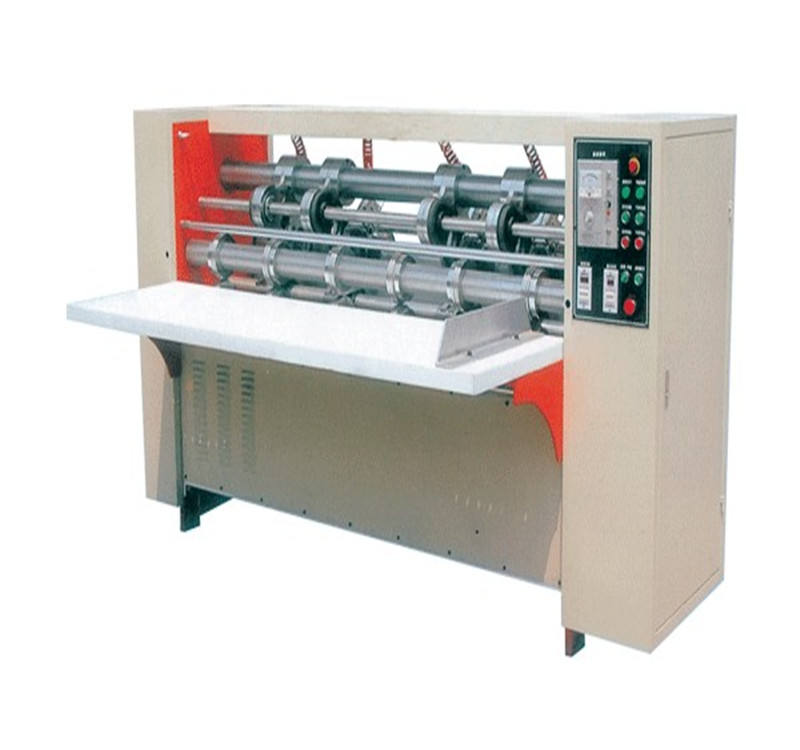 thin knife paper partitioning & creasing machine , corrugated paperboard blade cutting