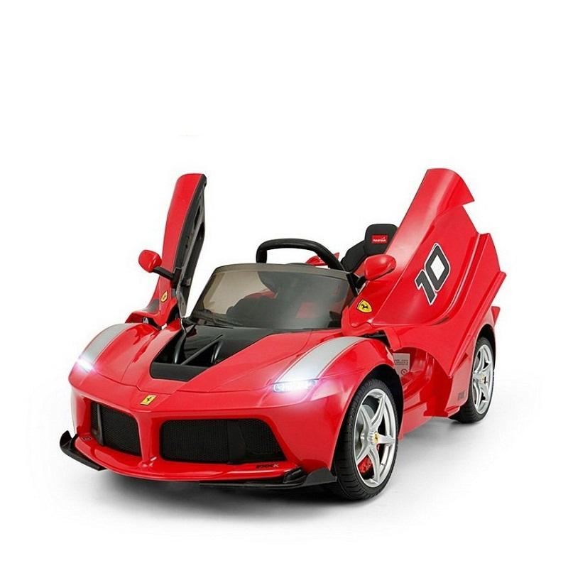 Rastar Ferrari china factories 2020 amazon hot selling ride on car kids electric car baby car 12V/6V