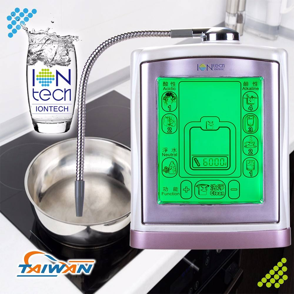 IT-377 Iontech ceramic ion membrane filter drinking water fountain ionizer