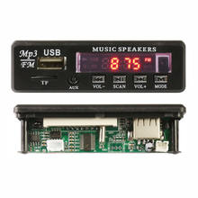 led display usb sd mp3 player radio FM decoder module pcba ,audio circuit plastic board manufacturer