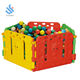 YF-10002 colorful kids ball pool baby safety playpen plastic fence indoor outdoor children play fence playpen
