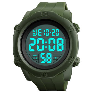 1305 skmei free shipping watch 방수 chronograph 5atm reloj pulsera army style sport watch