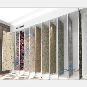 Desain Baru Wallpaper Jenis Sayap Display Panel Board Rack