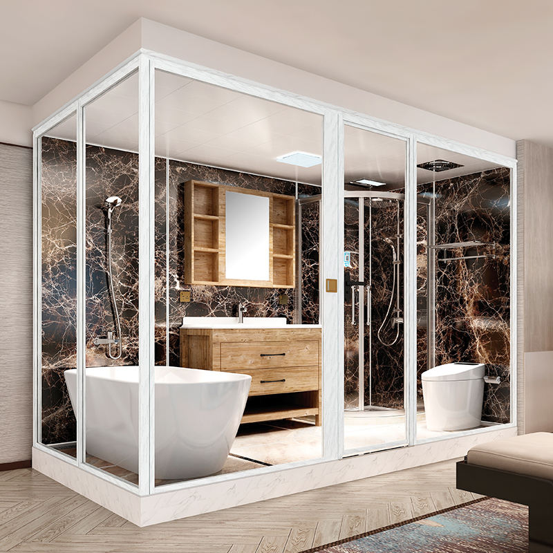2020 Hot Sale Prefab Modular Bathroom、Bathroom Podオールインワン浴室ユニット