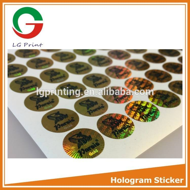 Hot Printing 3d Security Hologram Sticker High