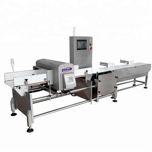 Factory Price Metal Detector and Weight Checker For Food Industry Combination Checkweigher and Metal Detector