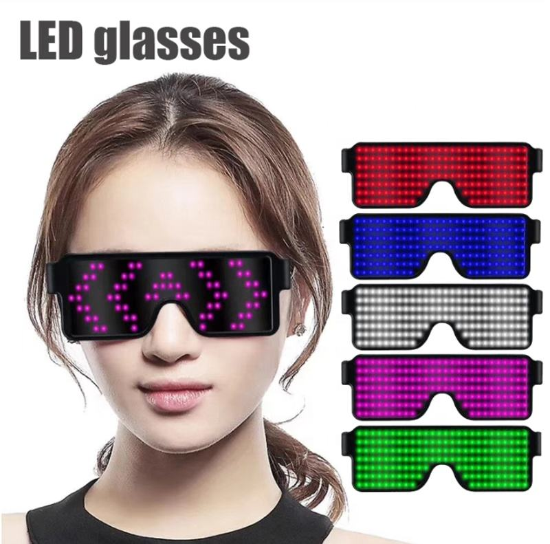 LED Glow Glasses/Party Supplies Light Glasses/Suitable for Party Concert Bar Party a Music Festival a New Year's Party Birthday