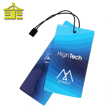 Luxury China New Design Brand Printing Custom Paper Hang Price Clothing Tag
