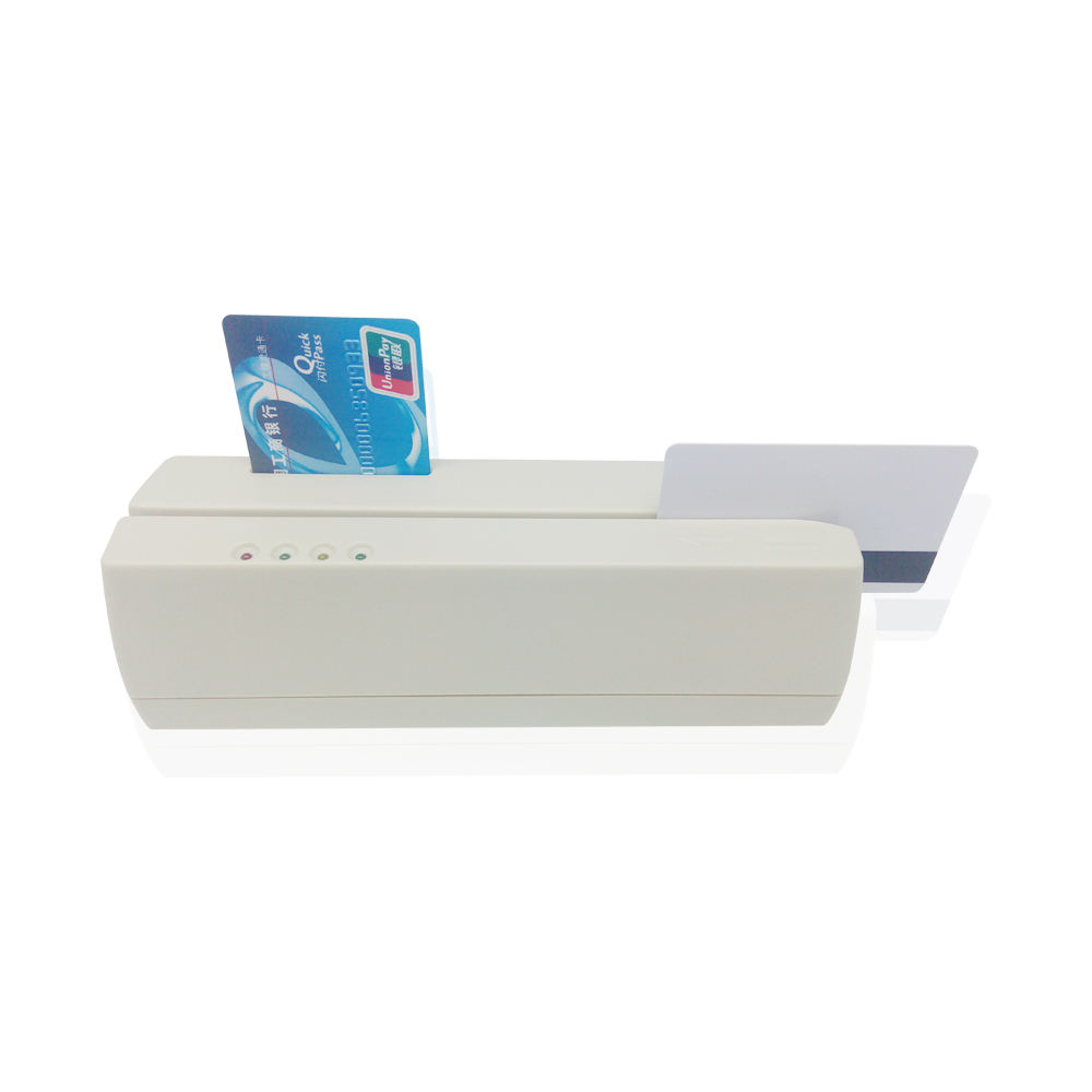 EMV L1 Approvato smart Lettore di Carte Magnetiche, chip IC/RFID/PASM Card Reader Writer