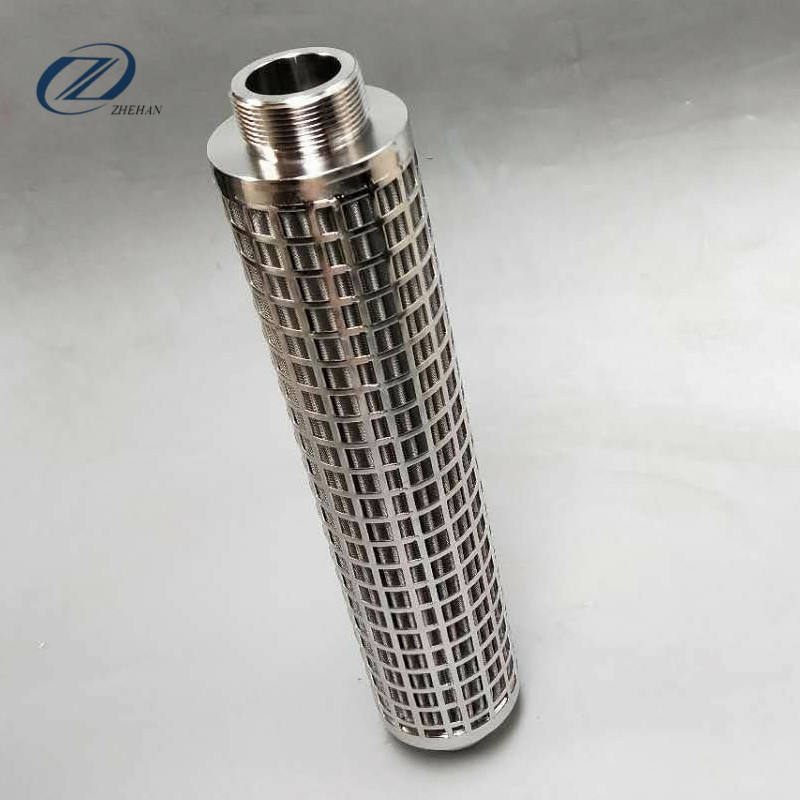 SUS316 Stainless Steel Heavy Fuel Oil 필터/(high) 저 (flow pleated 필터 cartridge