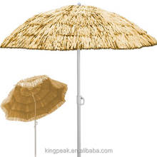 2019 Best Selling Garden Parasol Umbrella Beach Sun Shade Tilt Function Tilting Hawai Sunshade/ Beach Sun Umbrella Parasol