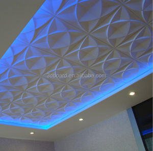 2015 3d ceiling panels with embossed effect