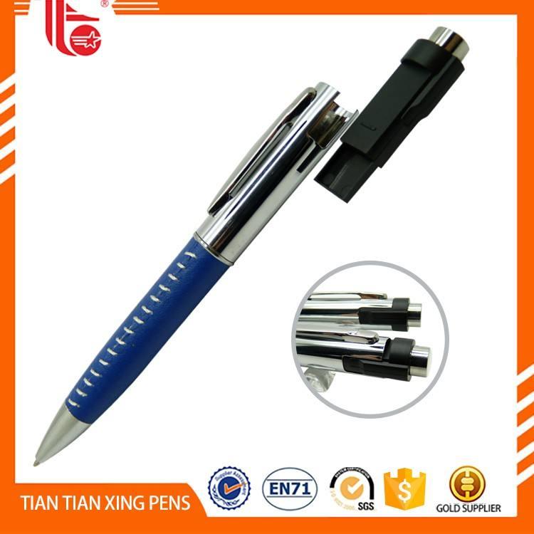 Chine TTX-W09B Nouveau promotionnel sans encre <span class=keywords><strong>stylo</strong></span> en métal clips de poche