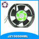 China 150mm Axial Fan Round Dual Ball Bearing Box Cooling Fan