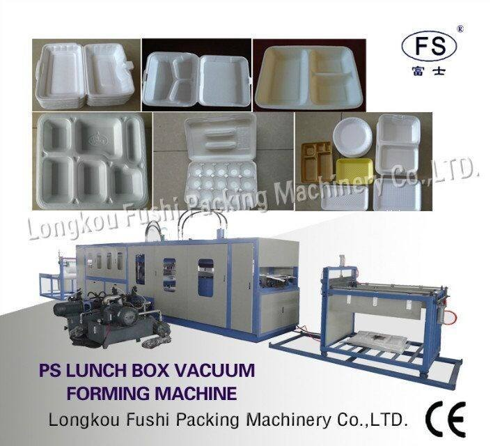 2018 Best quality PS disposable food container/lunch box line , take away food box machine , DONA FOAM PLATE MAKING MACHINE