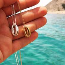 Fashion Gold plated shell necklace for women jewelry   Wholesale N81135