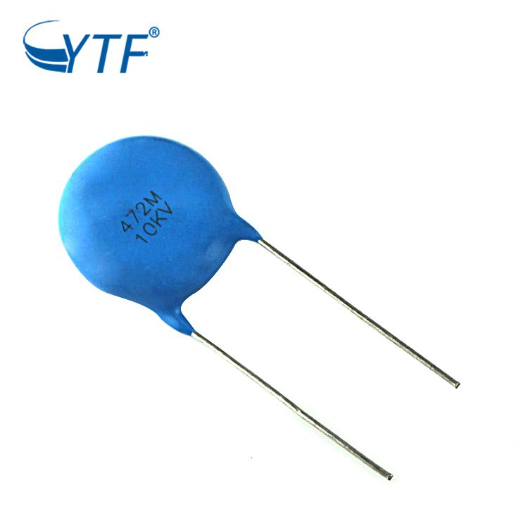 4700pF  0.0047uF 4.7nF 10Kv  10000 Volt ceramic capacitor Qty 1 New