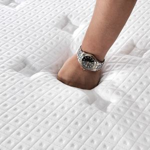 Free sea freight 3D mesh knitted fabric euro top high quality compress rollable memory foam royal mattress