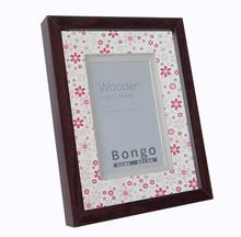 bulk cheap wood picture frames with cute passepartout