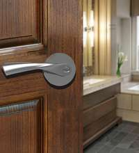 MOK Front door hardware and outside door handle with lock