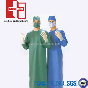 Disposable Operation Surgical Gown With Long Sleeve(GSG1003)