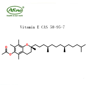 Phharmceutical ingredient Vitamin E D-ALPHA TOCOPHERYL ACETATE OIL CAS 58-95-7